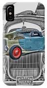 Street Rod In Grill IPhone Case