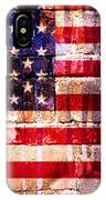 Street Star Spangled Banner IPhone Case