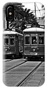 Streetcars New Orleans IPhone Case