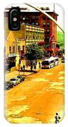 Streets Of Gold IPhone Case