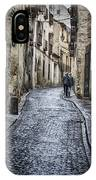Streets Of Segovia IPhone Case