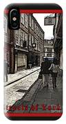 Streets Of York IPhone Case