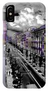 Streetwise In Spain IPhone X Case