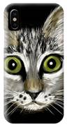 Strengthening Cat IPhone Case
