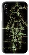 Striding Woman 1 IPhone Case