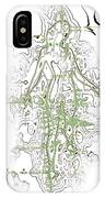 Striding Woman 2 IPhone Case