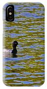 Striking Scaup IPhone Case