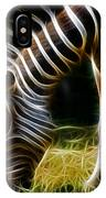 Striped Fractal IPhone Case