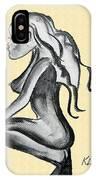 Stripper Chic Beige IPhone Case