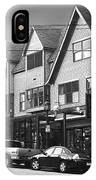 Strolling The Streets Of Bar Harbor IPhone Case