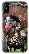 Strutting Gobbler IPhone Case