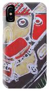 Students Are Traveling To An Excursion By                    Bus To Zoo Garden IPhone Case
