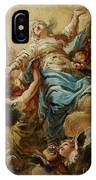 Study For The Assumption Of The Virgin IPhone Case