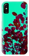 Stunning Red On Blue Sky IPhone Case
