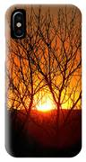 Stunning Stone Park Sunset IPhone Case