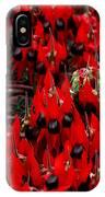 Sturt's Desert Pea Outback South Australia IPhone Case
