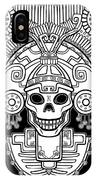 Stylized Skull. Pagan God Of Death IPhone Case
