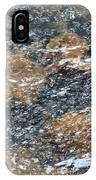 Submerged Stone Abstract IPhone Case