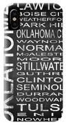 Subway Oklahoma State 1 IPhone Case