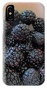 Succulent Blackberries  IPhone Case