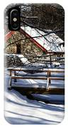 Sudbury - Grist Mill In The Woods IPhone Case