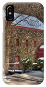 Sudbury Wintery Grist Mill IPhone Case