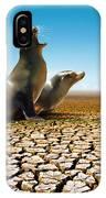 Suffering Seals IPhone Case