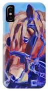 Suffolk Punch Draft Horse Plow Match IPhone Case