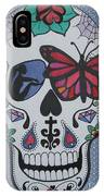 Sugar Candy Skull Bubbles IPhone Case