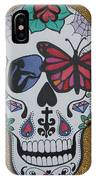 Sugar Candy Skull Leopard IPhone Case