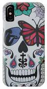 Sugar Candy Skull Pattern IPhone Case