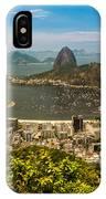 Sugar Loaf Mountain In Rio De Janeiro IPhone Case