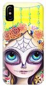 Sugar Skull Princess IPhone Case