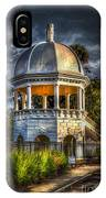 Sulfur Springs Gazebo IPhone Case