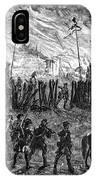 Sullivans March, 1779 IPhone Case