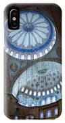 Sultan Ahmed Camii Blue Mosque Istanbul Turkey IPhone Case