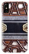 Sultan Ahmet Mausoleum Door 03 IPhone Case