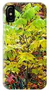 Sumac Leaves In The Fall IPhone Case