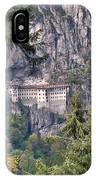 Sumela Monastery In Black Sea Region Of Turkey IPhone Case