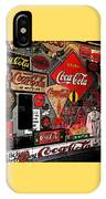 Sumi-e Styled Coca Cola Signs IPhone Case