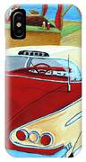 Cruising The Beach IPhone Case