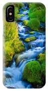 Summer Cascade IPhone Case