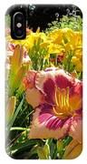 Summer Daylilies IPhone Case
