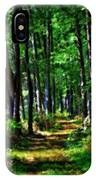 Summer Forest In Ohio IPhone Case