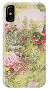 Summer In Sundborn IPhone Case