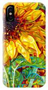 Summer In The Garden IPhone Case by Mandy Budan
