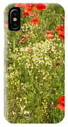 Summer Meadow Background IPhone Case
