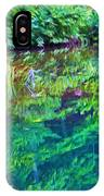 Summer Monet Reflections IPhone Case