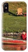 Summer Morning On Muskoka River IPhone Case