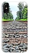 Summer Railroad Tracks IPhone Case